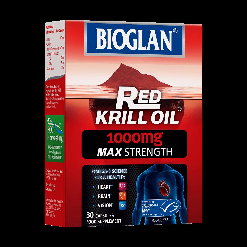 Bioglan Red Krill Oil 1000mg